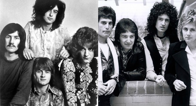 QUEEN VS Led Zeppelin
